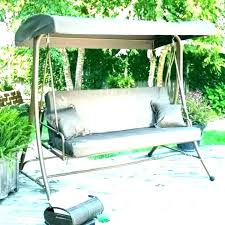 swing bed with canopy outdoor exotic costco