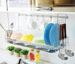 Modern Dish Drying Wall Racks