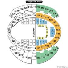 Long Beach Arena Seating Chart Long Beach Convention Center Seating Chart Travel Guide