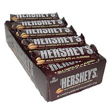 hershey almond candy bars. Simple Almond Hersheyu0027s Milk Chocolate With Almonds Candy Bar 145 Oz For Fresh Candy  And Great Service To Hershey Almond Bars S