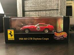 Find new and used 1969 ferrari 365 classics for sale by classic car dealers and private sellers near you. Hot Wheels 1968 Ferrari 365 Gtb 4 1 43 Scale Diecast Replica For Sale Online Ebay