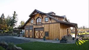 image of exterior barn style house floor plans