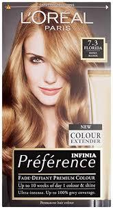 <b>L'Oréal Paris Recital Preference</b> Hair Colour Florida, Honey Blonde ...
