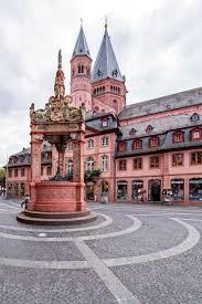 Marktbrunnen - Mainz, Rheinland-Pfalz   Mainz germany, Germany travel, Mainz