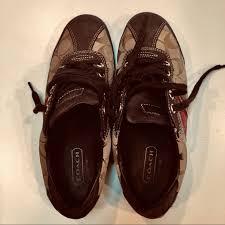 Coach Shoes | Womens Sz 75 M Meagan Brown | Poshmark