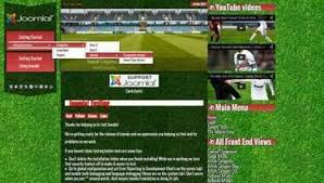 joomla football template. Joomla templates Topball 3 Football Premium