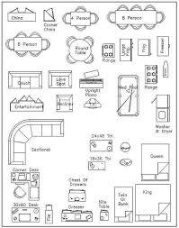 floor plan furniture symbols bedroom. Exellent Floor Free Printable Furniture Templates Template Bedroom Design To Floor Plan Symbols