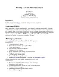 Cna Resume Objective Statement Examples Fascinating Preap Physics
