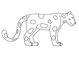 Disegni Giungla Per Bambini Animali Della Savana Da Colorare