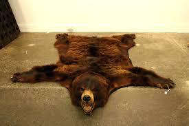 faux bearskin rug brown bear skin rugs design bizarre yet awesome black for faux bearskin rug