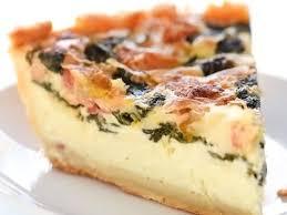 deep dish spinach bacon quiche recipe