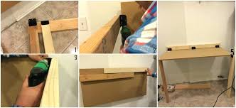 diy fold down table fold down laundry table diy fold down table wall mounted