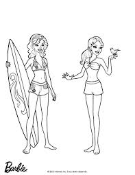 Mermaid Barbie Coloring Pages Elegant Kids 16001515 Attachments