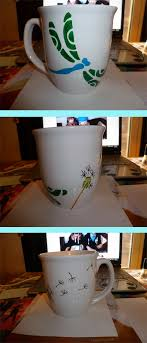 made a cup for my mom using the diy with a sharpie thing i think sharpie artsharpiesnifty craftsceramic
