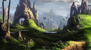 Fantasy Landscape Wallpapers - Top Free ...