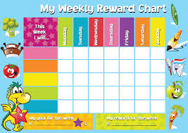 weekly reward chart printable printable childrens reward charts oyle kalakaari co