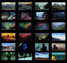 photoshop thumbnail daily practice all page of color thumbnails thumb