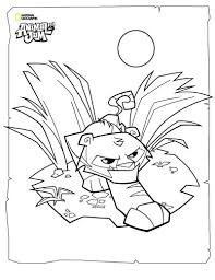 Small Picture Animal Jam Coloring Pages The Daily Explorer Animal Jam