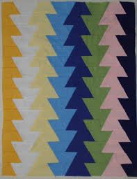 Mini Northern Lights quilt sewing pattern from Jaybird Quilts &  Adamdwight.com
