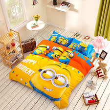 Minion bedding set with comforter 5pcs