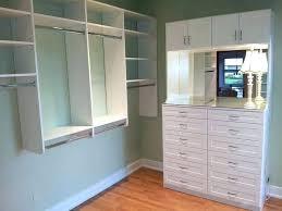 standard depth of closet furniture sizes