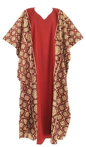 Women Batik Cotton Caftan Kaftan Plus Size Long Dress 26 28 30 3x Batik Kaftan Dress