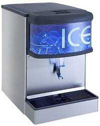 lancer 85 4440h 250 lb countertop ice dispenser push lever