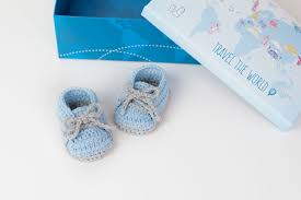 Crochet Baby Sneakers Pattern