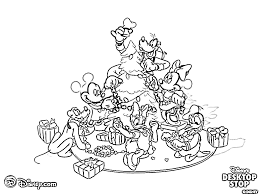 Baby Disney Christmas Coloring Pages Thanhhoacarcom