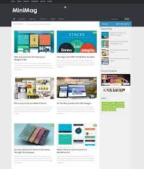Minimag Blogger Template Free Download