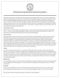 Nursing Studentesume Examples Nurse Sample Free Download Practical