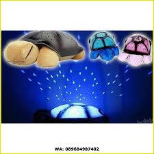 turtle night sky sleep lamp lampu tidur proyr kura bulan bintang