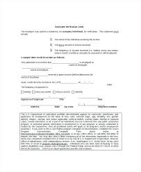 Sample Of Letter Of Employment Verification Sample Employee Verification Letter Emailers Co