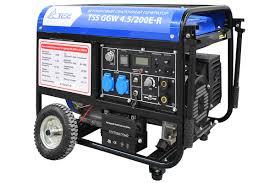 TSS GGW 4.5/200E-R <b>бензиновый сварочный генератор</b> - ИСТК ...