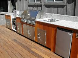 remarkable outdoor kitchen stainless steel cabinets outdoor regarding outdoor kitchen cabinet doors decorating