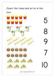 counting sets worksheets for kindergarten – ringapp.co