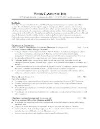 Executive Assistant Resume Templates Stunning Office Administration Sample Resume Executive Administrative Office
