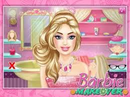barbie dress up makeup games