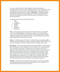 Literature Review Outline Template Research Example Pdf