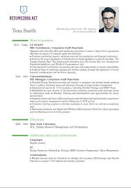 New Resume Format 2 2016