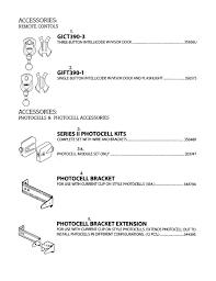 read electrical diagram fresh genie garage door opener parts model s sears partsdirect