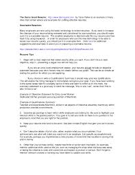 The Most Important Thing On Your Resume Executive Summary Inside