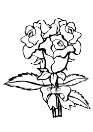 25 free printable beautiful rose coloring pages for kids