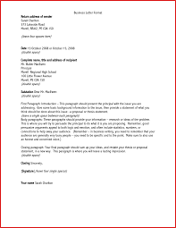Formal Business Letter Greeting Business Plan Format Examples How