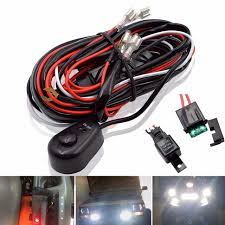 car led light bar wire 2 5m 12v 24v 40a wiring harness relay loom car led light bar wire 2 5m 12v 24v 40a wiring harness relay loom cable kit