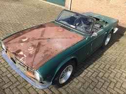 1974 triumph tr6 for restoration