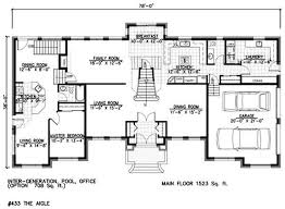 44 Best Dual Master Suites House Plans Images On Pinterest Mother In Law Suite Addition Floor Plans