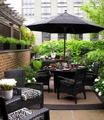 wicker rattan novelty outdoor pots and planters patio contemporary with outdoor flower pot solid color market umbrellas