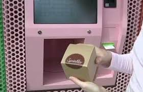 Sprinkles Vending Machine Delectable Cupcakes Available 4848 From Vending Machine Chinaorgcn