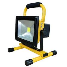 Portable Flood Lights Outdoor Us 68 31 10 Off Led Flood Lights Rechargeable 30w 50w Floodlight Portable Flood Light Lamp Warm White Cool White Ip65 Outdoor Spotlight In